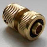 Brass Garden Tap Quick Hose Connector - 54001340